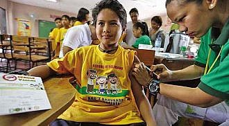 Marikina public school first to avail of dengue vaccine