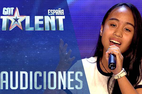 Young Pinay advances to grand finals of 'Spain's Got Talent'