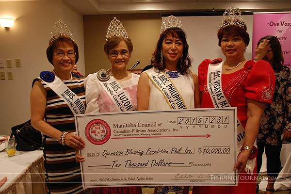 MaCCFA endorses $10,000 for Yolanda typhoon victims ...