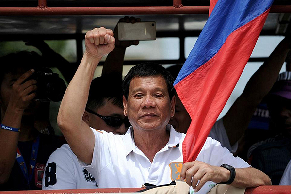 Duterte's musings are loaded with threats and humour but humanely spoken!
