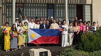 Mayor Brian Bowman hosts the 118th Philippine Independence at the City Hall