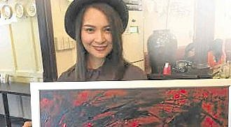 Ryza Cenon launches first-ever painting exhibit