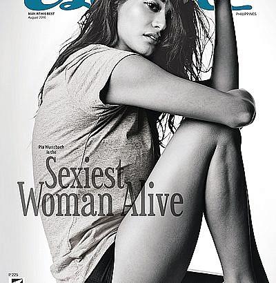 Men's mag picks Pia Wurtzbach as 'sexiest woman alive'