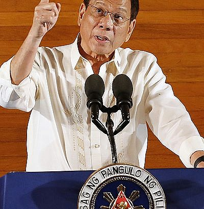 Duterte delivers his first SONA