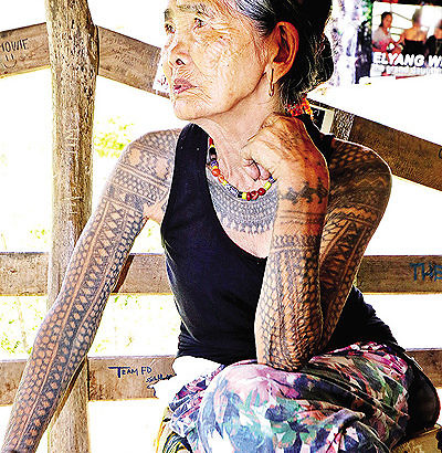 Culture body eyes national award for Whang-od