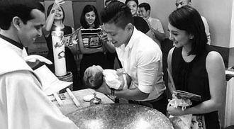 Drew, Iya celebrate Antonio Primo's baptism