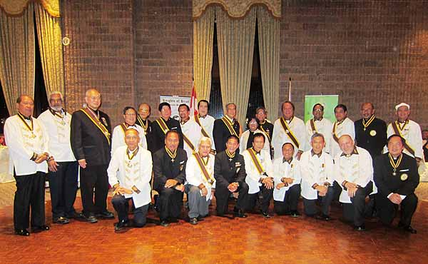 Knights of Rizal Canada Region holds its 16th Commanders' Ball