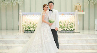 Kaye Abad and Paul Jake Castillo marries in Cebu