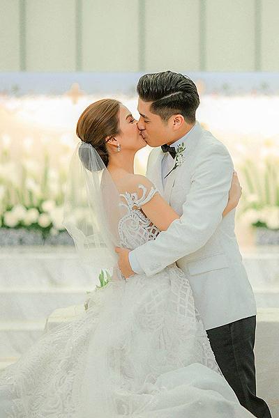 Kaye Abad and Paul Jake Castillo marries in Cebu - Filipino