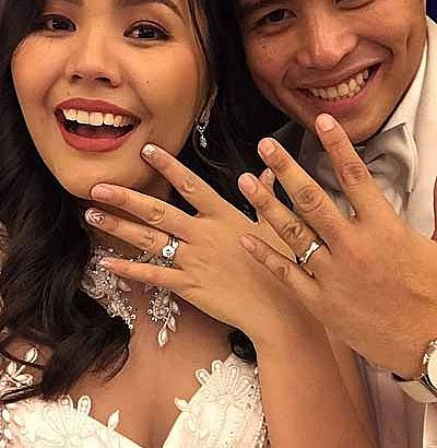New Year's Day wedding for Vic Sotto's daughter