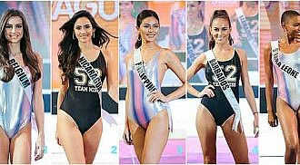 Missosology picks Top 15 in Ms U swimsuit competition