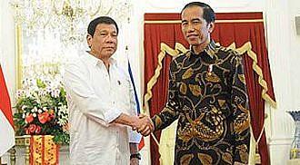 Duterte, Widodo eye economic growth with Ro-Ro project