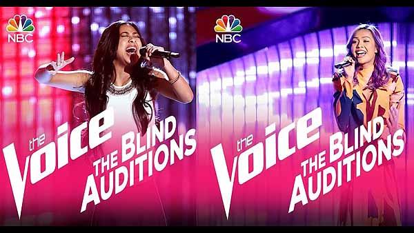 Fil-Am singers in 'The Voice' season 12
