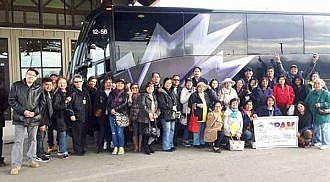 Quezonians visit Sand Hills Casino
