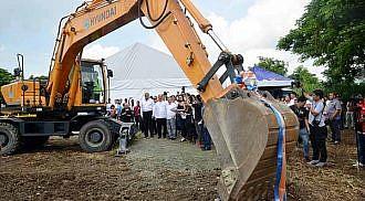 CALAX Laguna segment breaks ground June 19, 2017