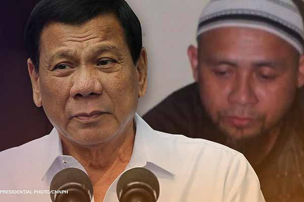 Duterte offers ?10M reward for Isnilon Hapilon