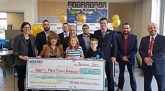 Vickar Group donates $26,000 towards Child Cancer Awareness