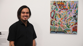 Patrick Cruz art exhibition rhapodizes the colourful vantage of immigration