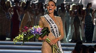 Demi-Leigh Nel-Peters of South Africa is Miss Universe 2017