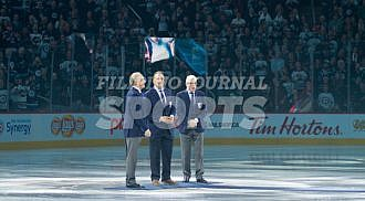 Jets on a roll, Hawerchuk inducted into Jets Hall of Fame