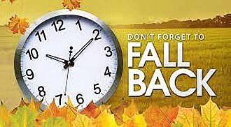 Daylight Saving Time Ends Sunday, November 5th, 2017