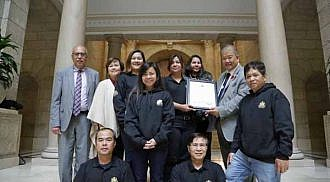 204 Neighbourhood Watch Recognized at the Manitoba Legislative Assembly