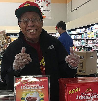 Hot Rod Premium Sweet Longanisa takes  a debut at Lucky Supermarket