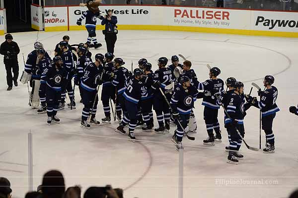 Winnipeg Jet continue to play tough at Bell MTS Place