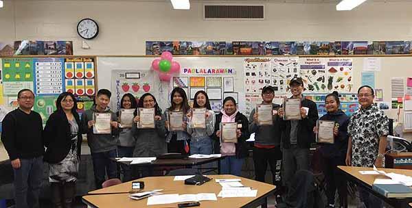 MAFTI's Filipino Language Classes for Youth