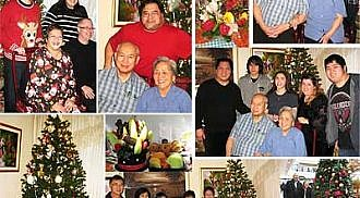 Poblete Family holds get together on Christmas 2017