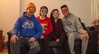 2017 Christmas Celebration Llorico Family