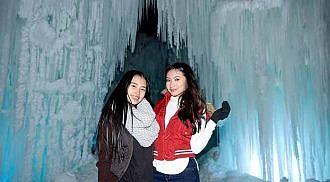 Ice Castles Opens In Winnipeg