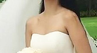 Maxene honors late dad on her wedding
