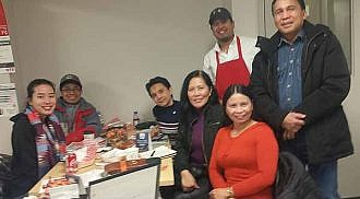 Solid Mindanaoans of Manitoba meets at Hot Rod Grill