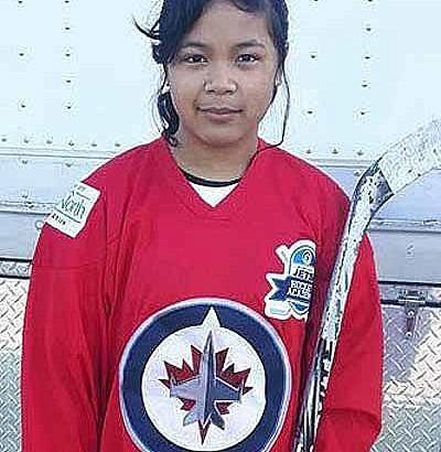Young Pinay is Winnipeg Jets Hockey Academy MVP
