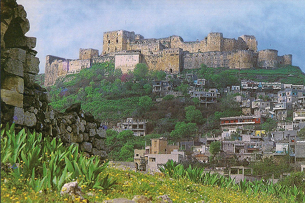 """CRAC des CHEVALIERS, """"Castle of the Knights"""""""