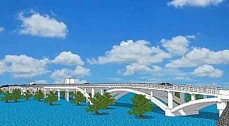 348-meter world-class bridge underway to boost tourism in Siargao