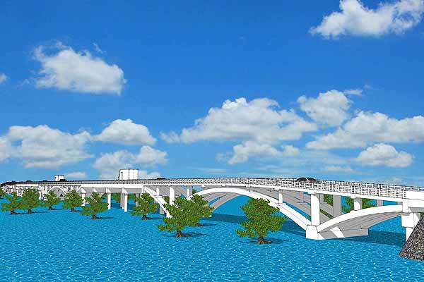 348-meter world-class bridge underway to boost tourism in Siargao