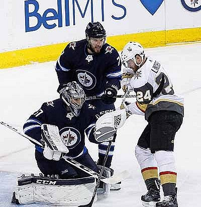 Game Three favours Vegas, Jets now trailing 2-1