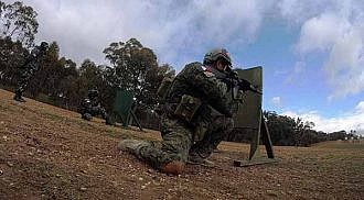 Army team shines in Australian shooting contest