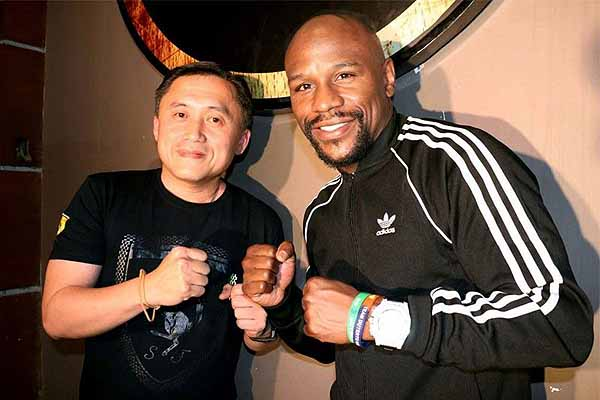 Mayweather smitten by Philippine hospitality