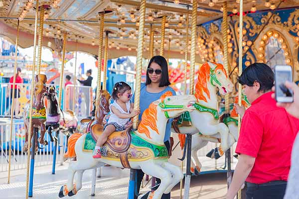 Family Fun on the RREX Midway