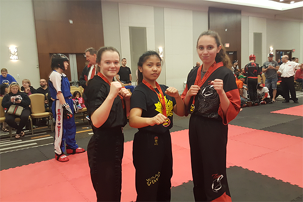 WSAA with Team Manitoba at the WKC National Martial Arts Team Try Outs in Ottawa, Ontario