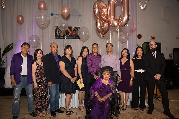 Leonila Manguba turns  80!