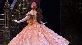 Stephanie Sy is Belle in the Beauty and the Beast