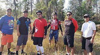 Filipino Amateur Mountain Bikers: Exploring Manitoba biking trails