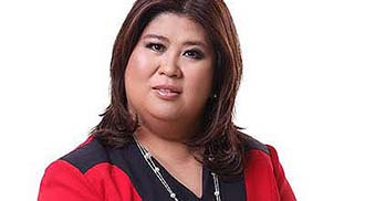 UP confers Jessica Soho the 'Gawad Plaridel Award'