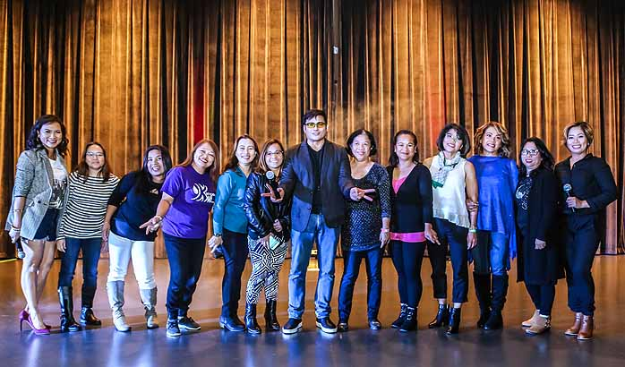 An intimate evening show with Mr. Gabby Concepcion at Petrus Hall