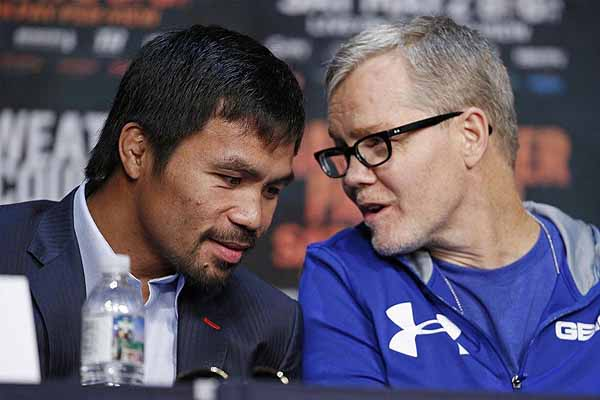 Pacquiao hopes to renew partnership with Roach