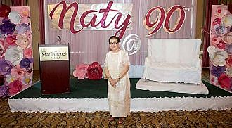 Naty Fernando celebrates her 90th birthday